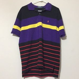 Polo shirt bright colors